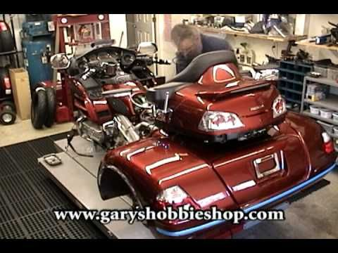 Building A Honda Gold Wing Trike - Goldwing - YouTube