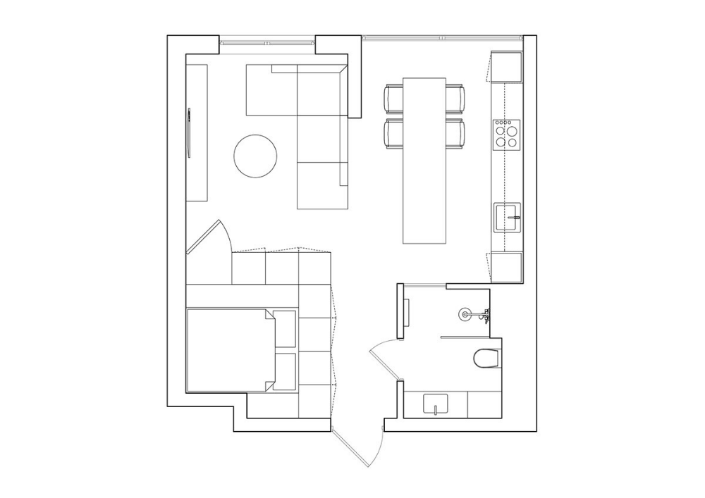 Maximising Small Spaces Under 50 Sqm With Floor Plans Interior Design Apartment Small Small Apartment Interior Maximize Small Space