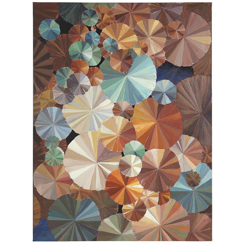 Abstract pinwheel wall art pier 1 imports art