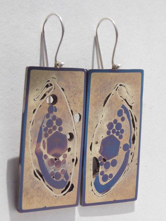 earring HJALTADANS by colinduncan on Etsy