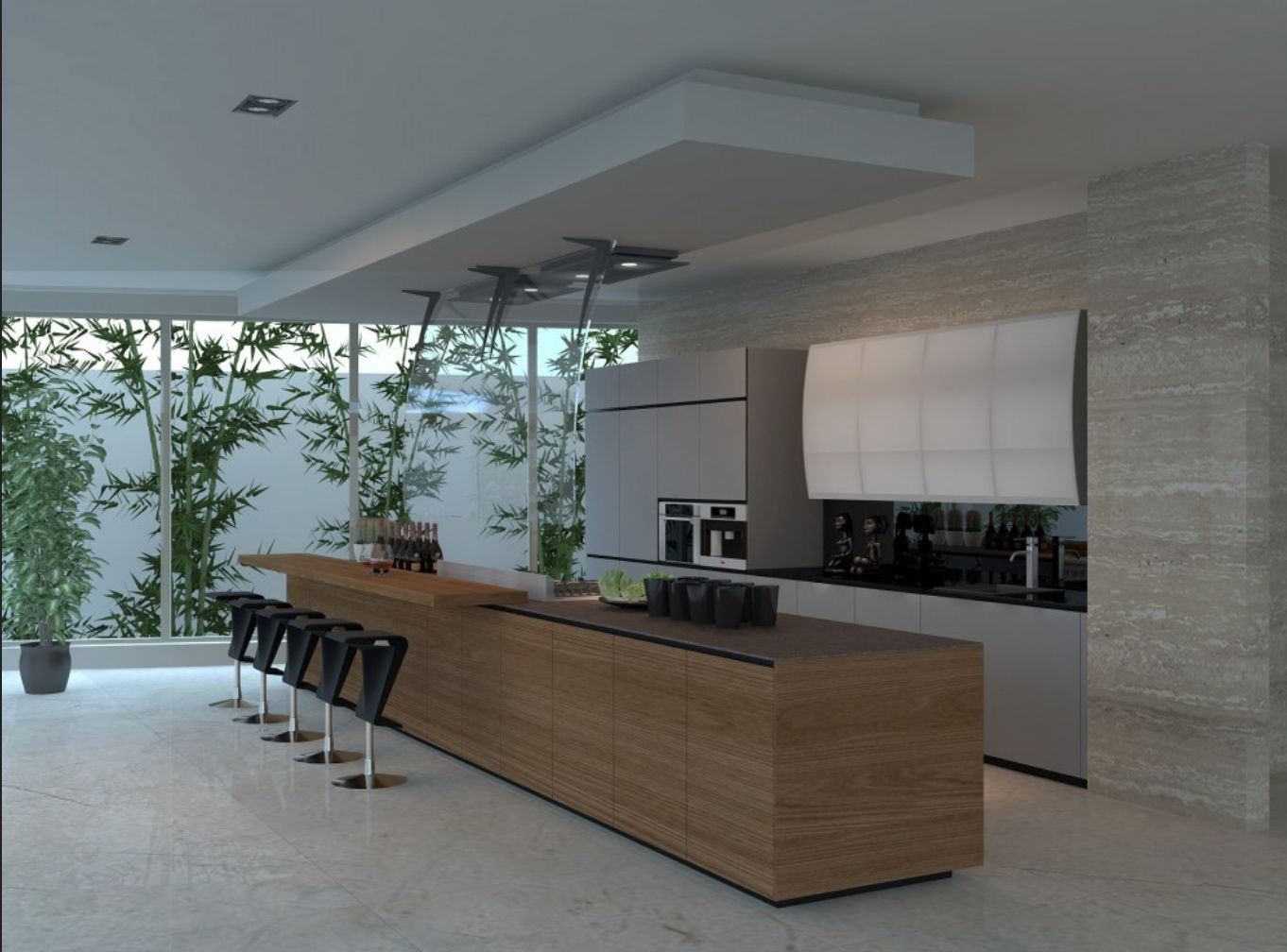 Valcucine Kichten top modern Designerküchen, Küchen