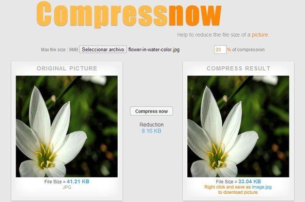 Comprimir Video Sin Perder Calidad Compressnow Comprimir Imagenes Y Mejores Aplicaciones