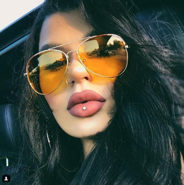 ba7d70d46b yellow aviator sunglasses women Night Vision Driving glasses big car glasses   BINYEAE  Asshowninthepicture