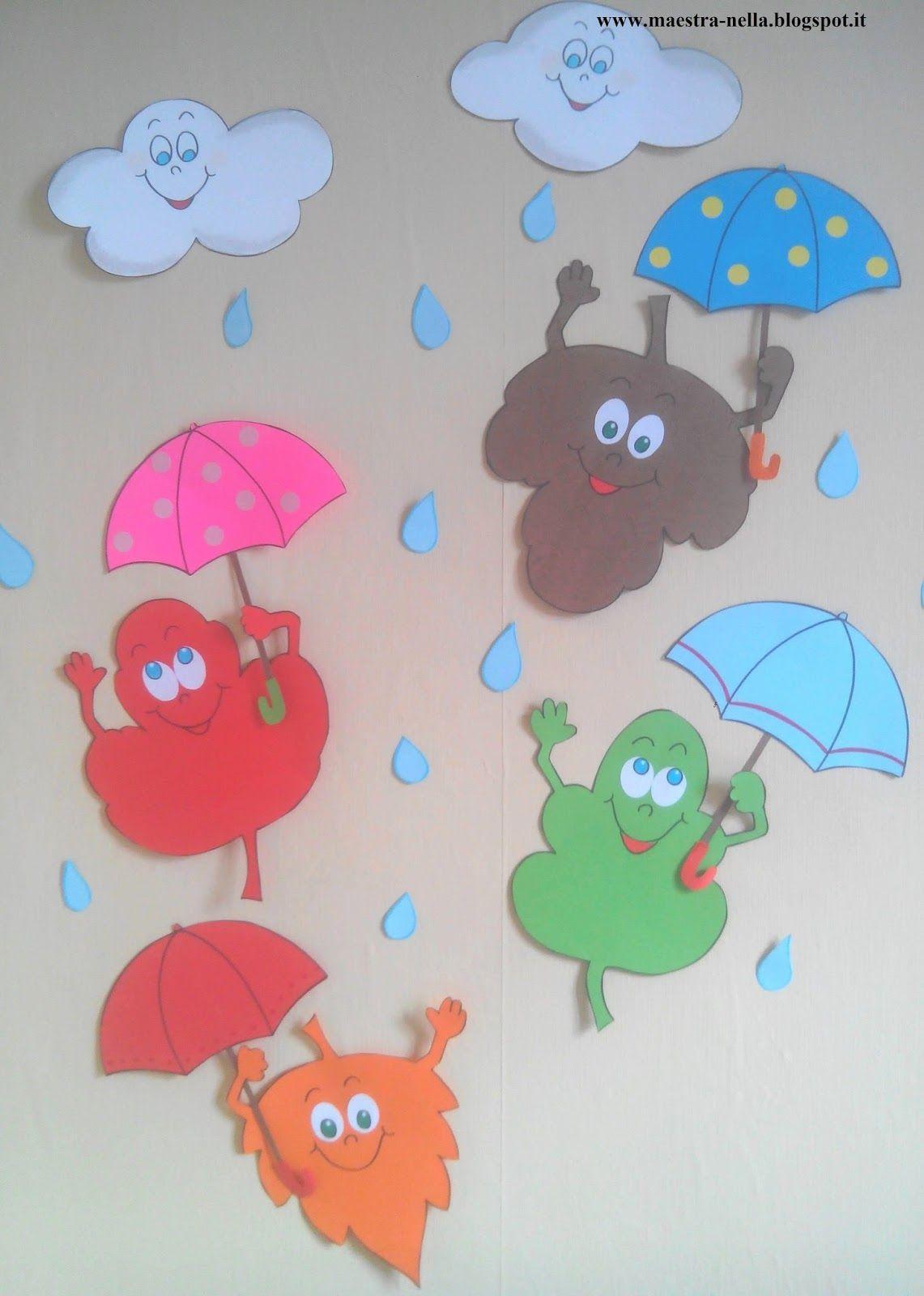 Lavoretti autunno scuola infanzia zl96 regardsdefemmes for Idee per l accoglienza nella scuola dell infanzia