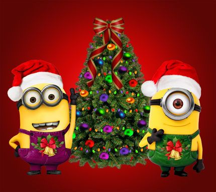 minion tree | Download Christmas Minions wallpapers to your cell ...