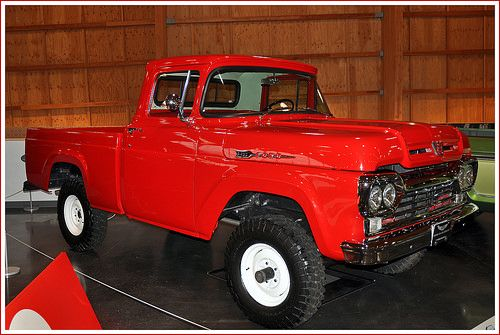 1960 Ford F 100 4x4 Pickup Truck With Images Trucks Pickup