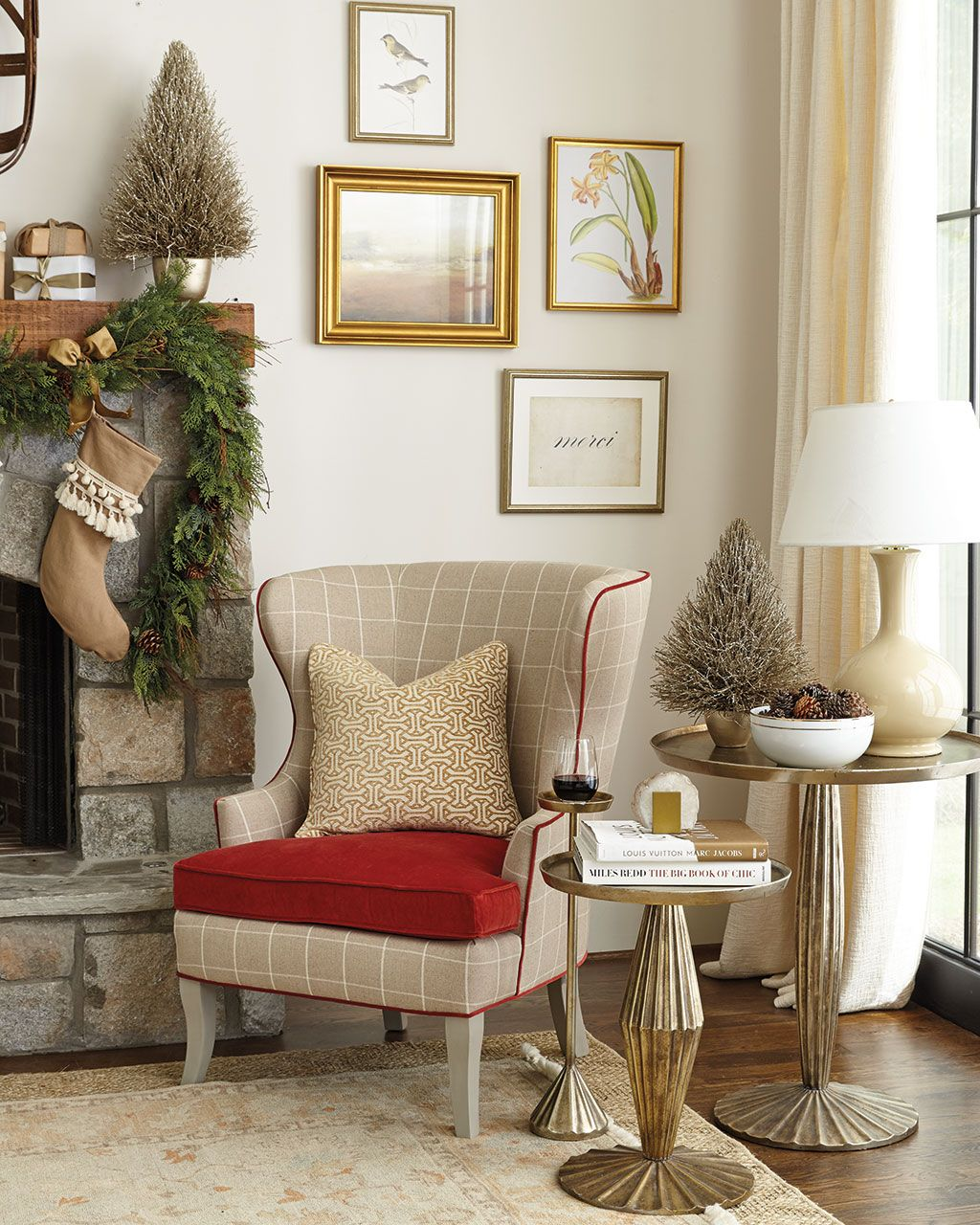 Festive Mantels to Inspire Your Holiday Home Mantels Neutral