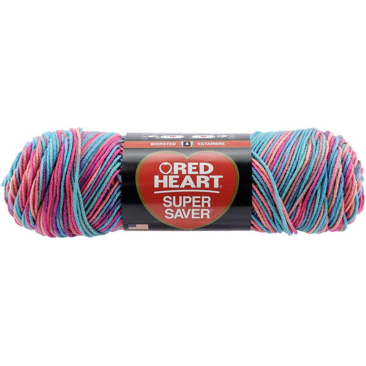 Cherry Red Red Heart Super Saver Jumbo Yarn