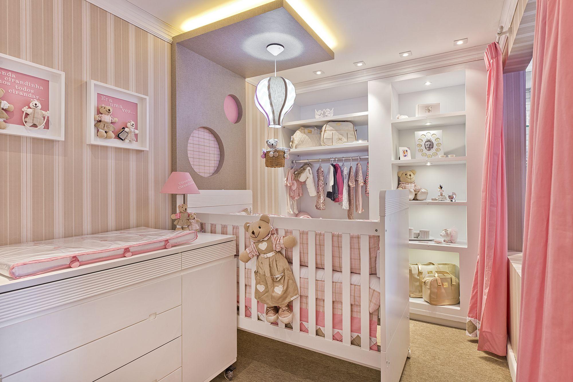 7 Ideias Para Montar Quarto De Beb Para Menina Quarto De Beb  ~ Decoração De Quarto De Menina Bebê