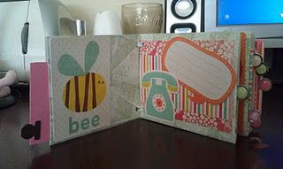 October Challenge - Mini Albums  Envelope Album - by Michele McKay