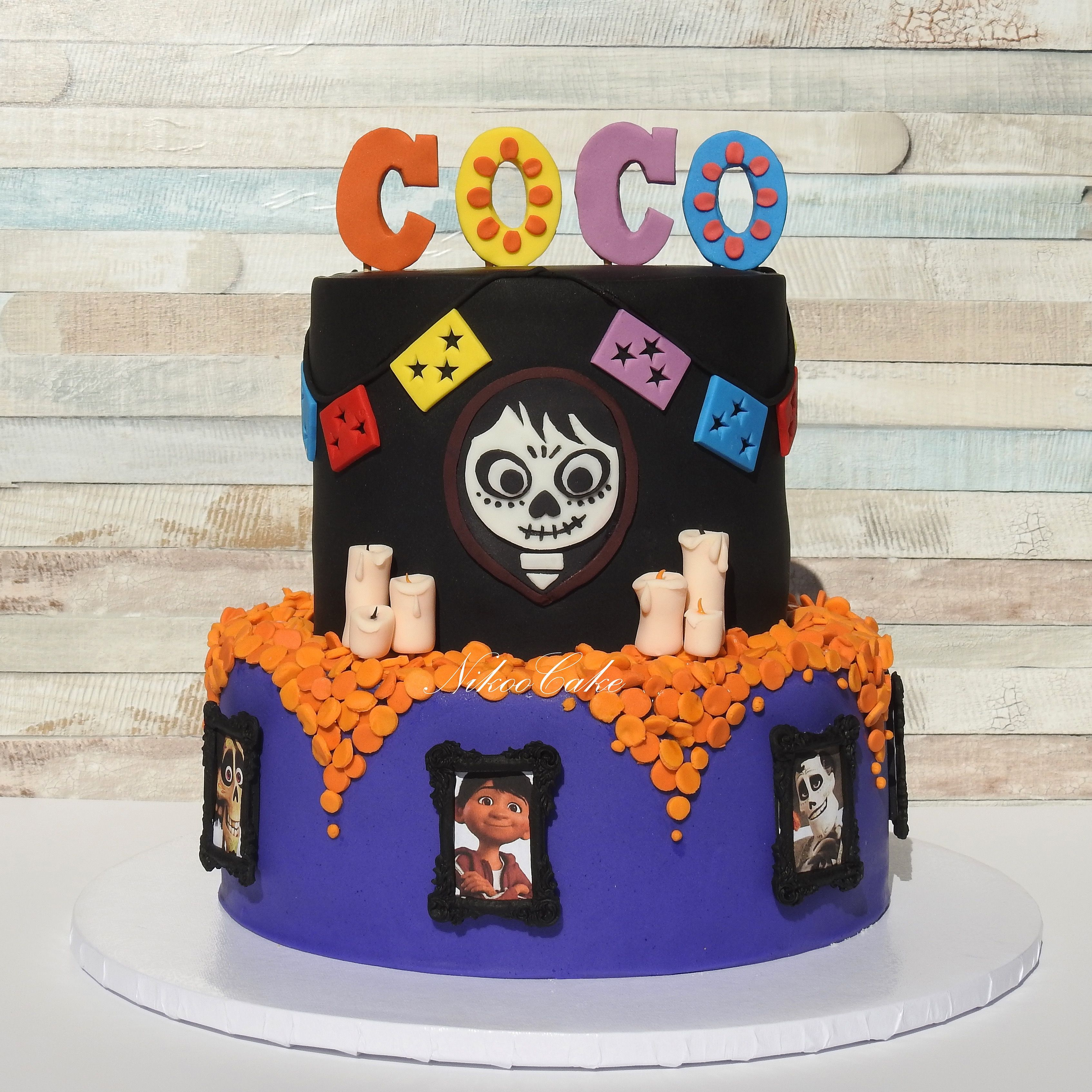 COCO Birthday Boy Cake Vanilla Sponge With Vanilla