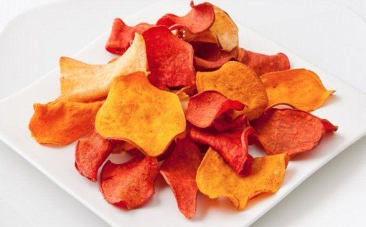 Pin En Chips De Vegetales