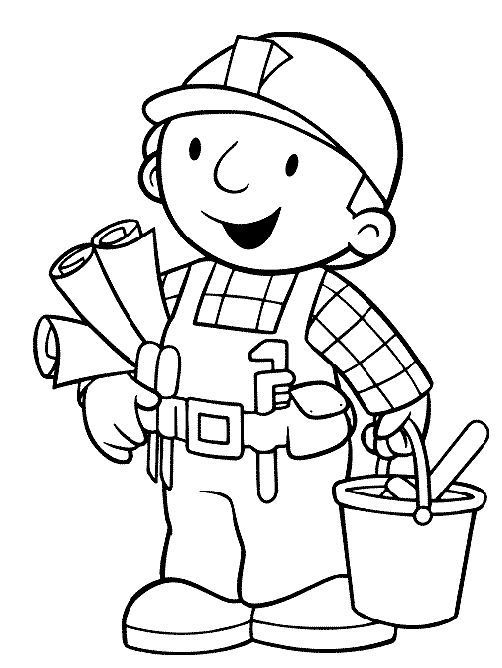 Bob The Builder Sketching Buildings Coloring Pages For Kids Cqe Printable Bob The Builder Coloring Pa Bob The Builder Coloring Pages For Kids Coloring Pages