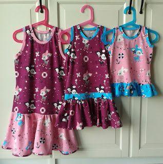 lillesol & pelle Schnittmuster/ Pattern: Sommerkombi Kleid & Top