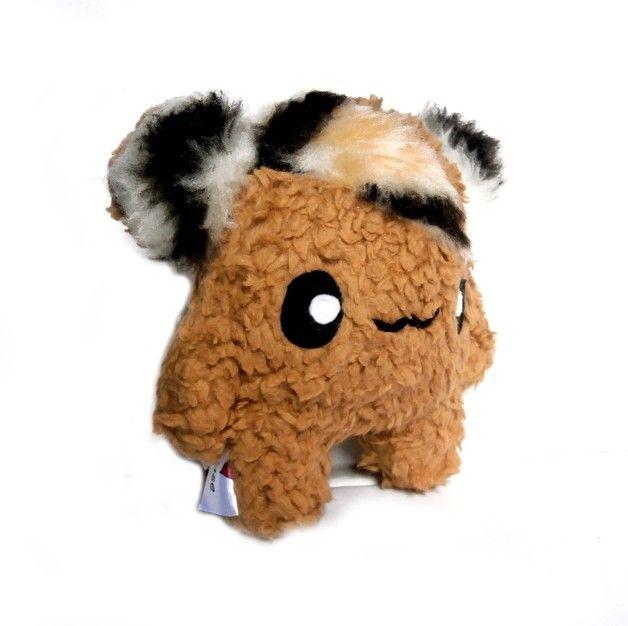 Monster & Tiere - Fluse Kawaii Plush Monster Potato Zottelchen - ein Designerstück von Fluse-123 bei DaWanda