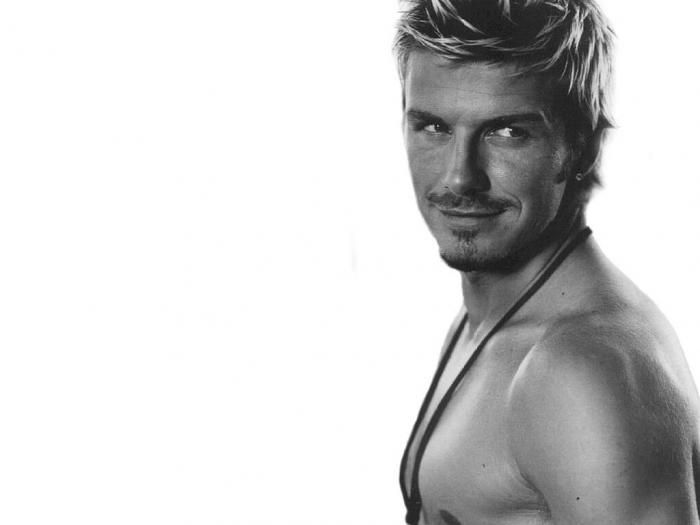David Beckham! can't get enough of him