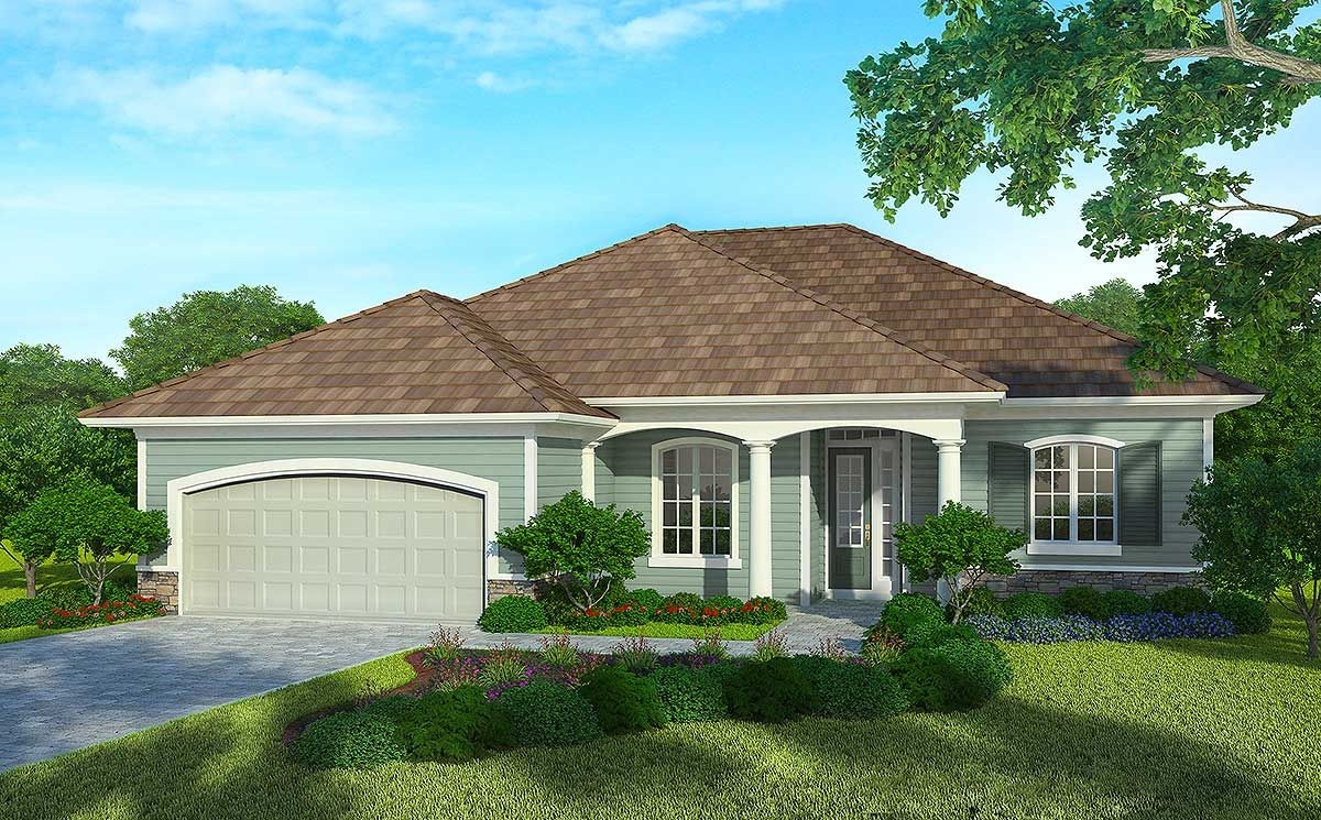 Plan 33007zr 3 Bed Super Energy Efficient House Plan Energy Efficient House Plans Country Style House Plans Energy Efficient Homes