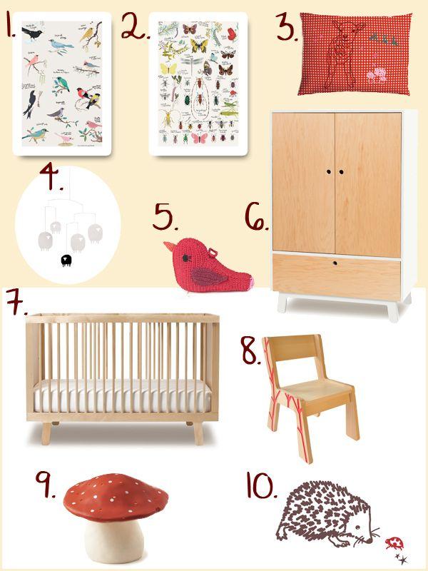 Blog on nursery deco: furniture, stickers, accesories, etc.