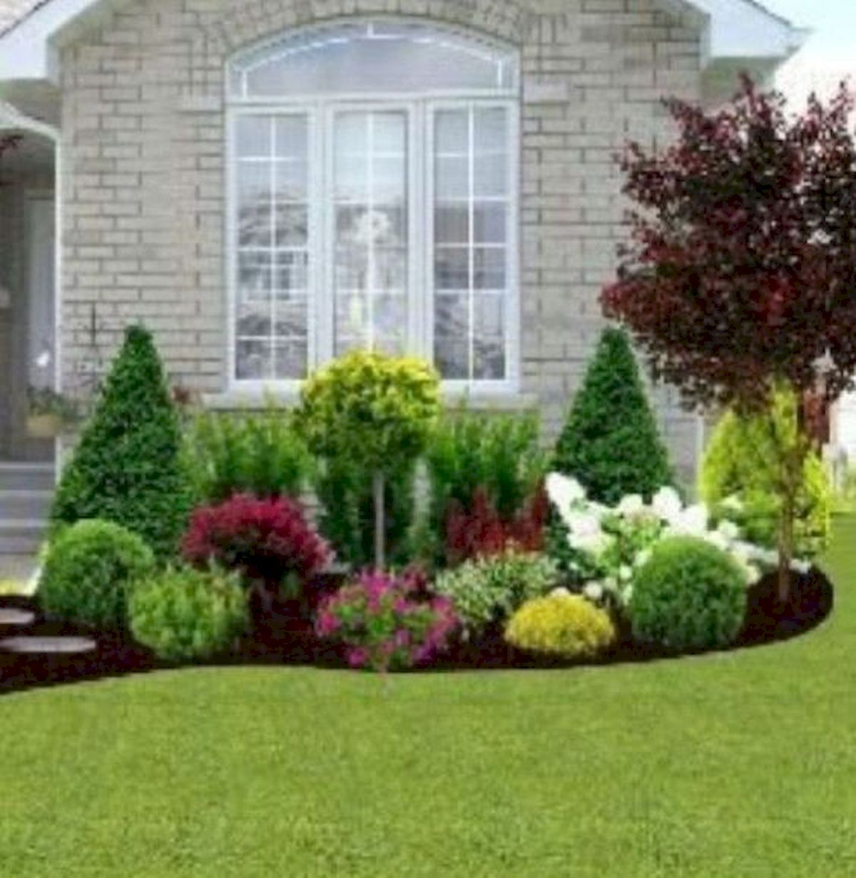 35 Awesome Front Yard Design Ideas Front House Landscaping Front Yard Garden Design Front Yard Landscaping Design