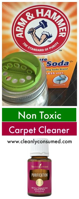 Non Toxic Carpet Cleaner Using Baking Soda Purification Blend