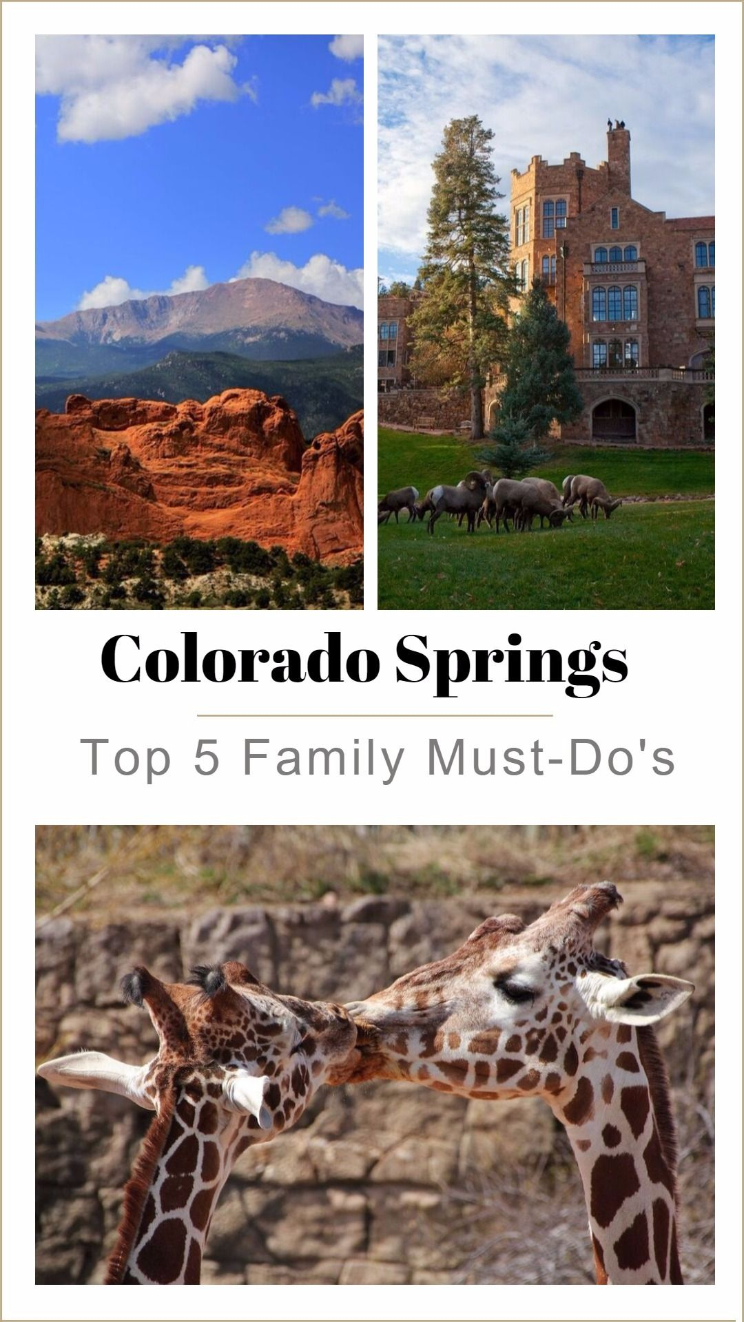 5 Awesome Reasons to Visit Colorado Springs Colorado