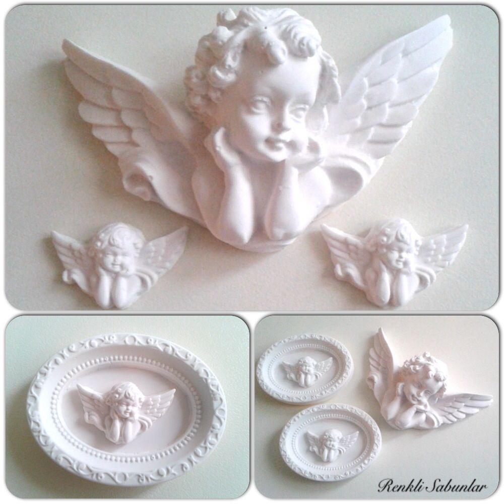 Decorative Soap Balls: Angels....scented Stone