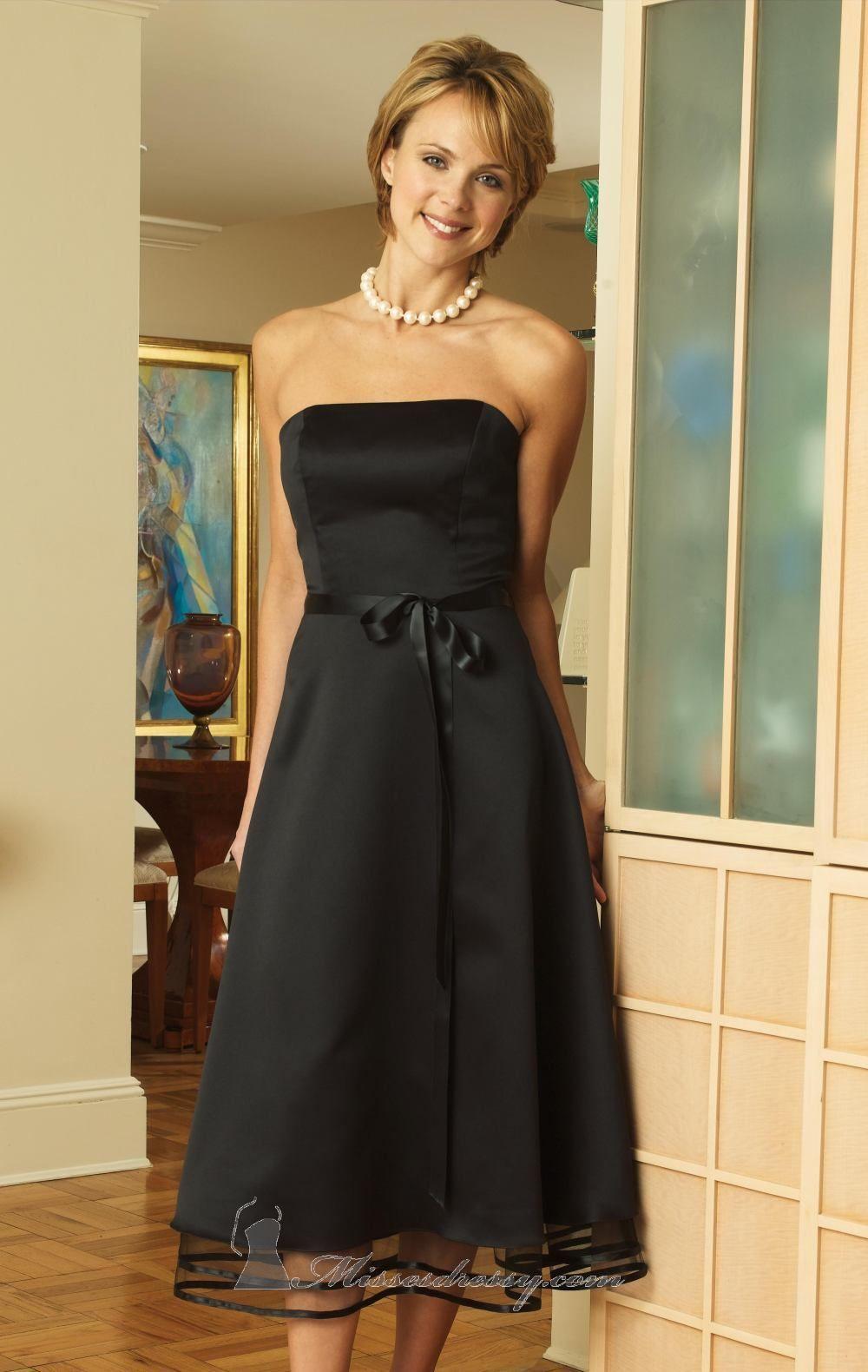 Black dresses for wedding  Bari Jay   Cocktail Dresses  Pinterest  Bari Satin dresses
