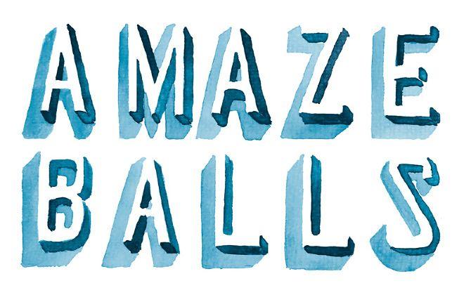 Amazeballs - Hello Jon - Design, Illustration & Hand Drawn Type