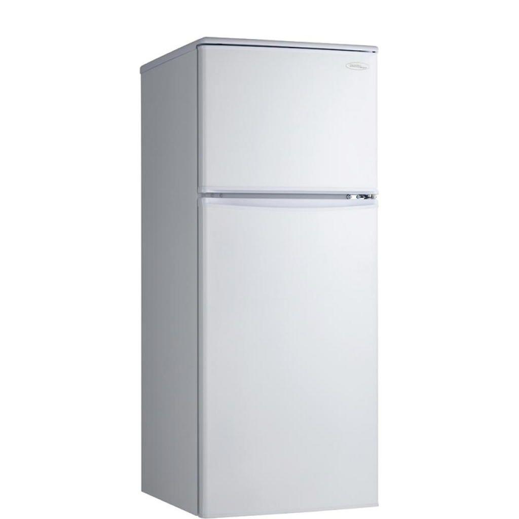 Refrigerateur 9 1 Pi Cu Congelateur En Haut Eclairage Interieur Etageres Reglables Et Poignee De Porte