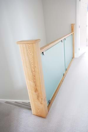 Best Frosted Glass Staircase In 2020 Glass Balustrade Glass 640 x 480