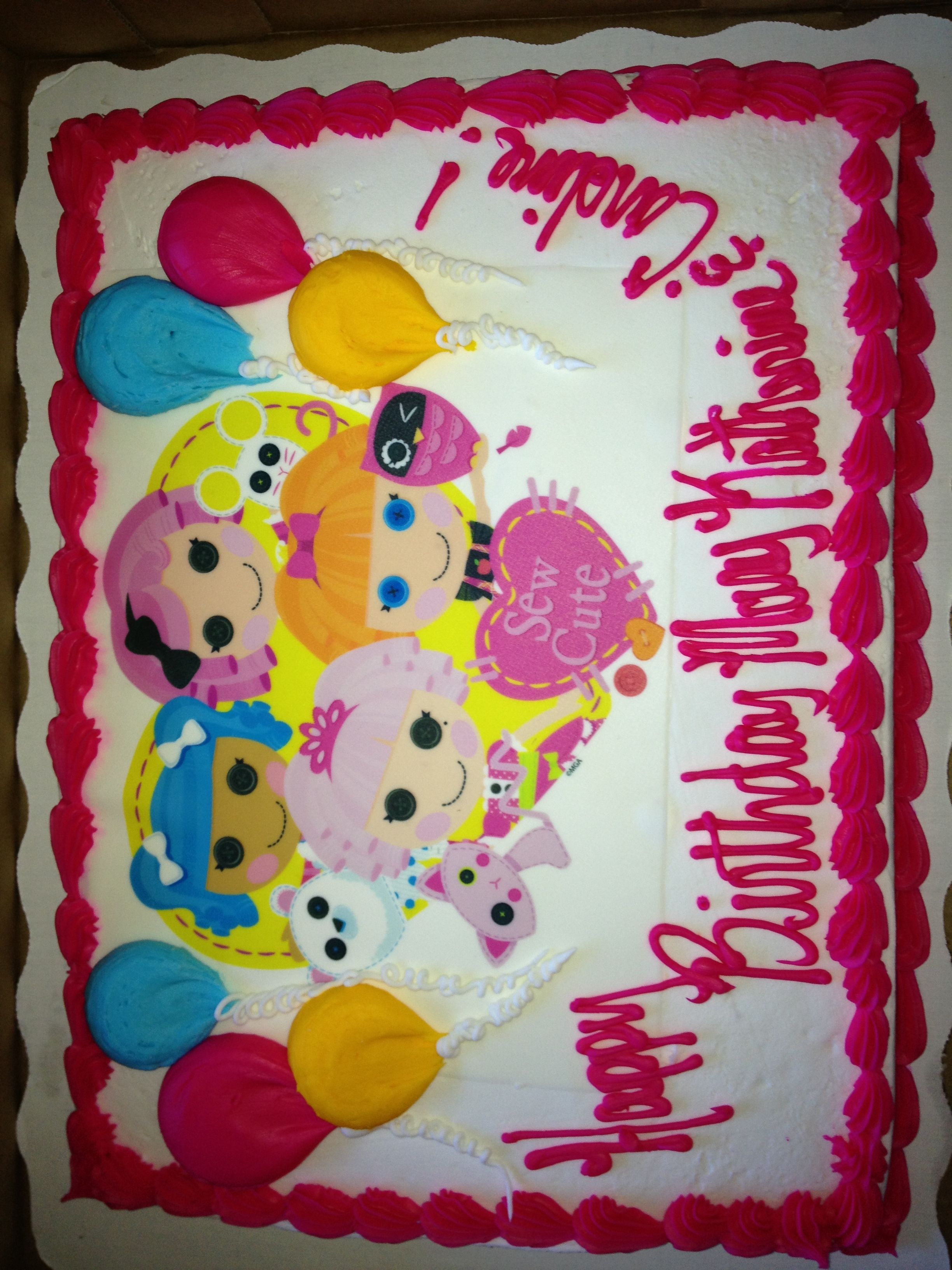 Sams Club Cake Design Book : Cake--found the best priced Lalaloopsy cake at Sam s Club ...