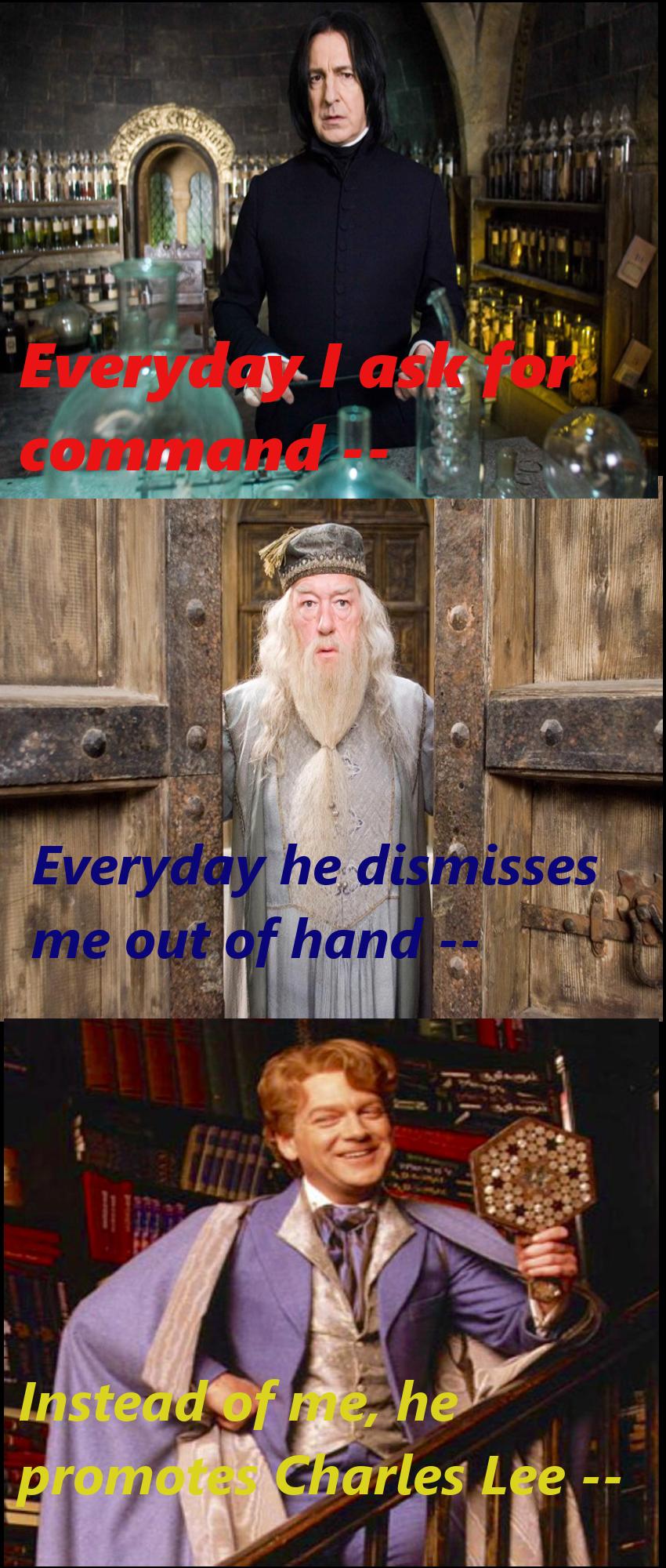 Harry Potter Hamilton Crossover Instead Of Me He Promoted Charles Lee Lockheart Harry Potter Feels Harry Potter Hamilton Memes