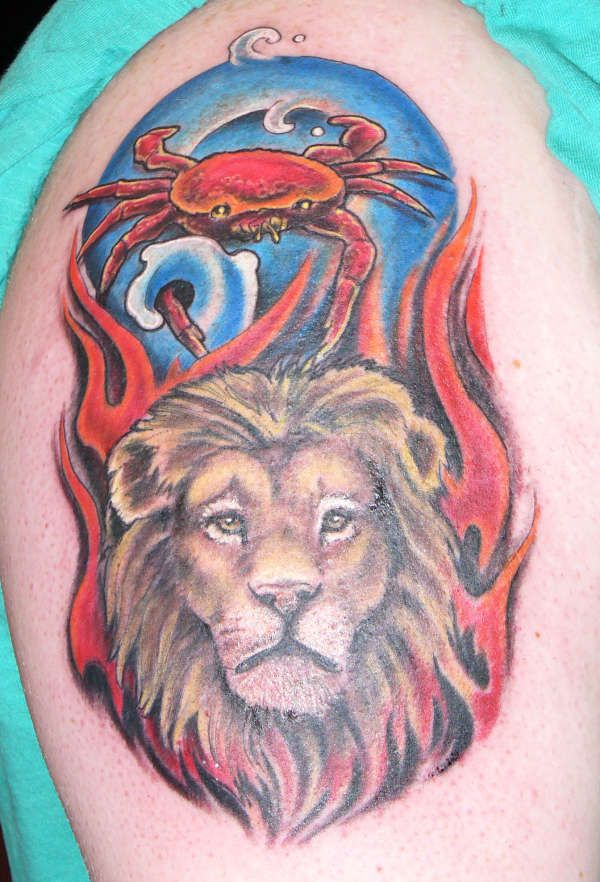 Taurus gemini cancer leo virgo libram scorpio sagittarius for Gemini and cancer tattoo