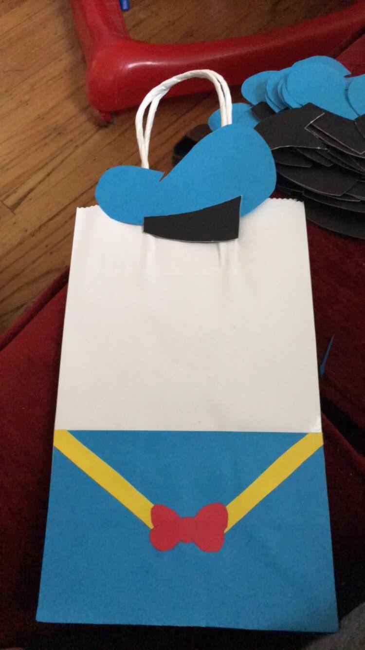 Donald Duck baggies | Festa Aniversário | Pinterest | Patos, Cumple ...
