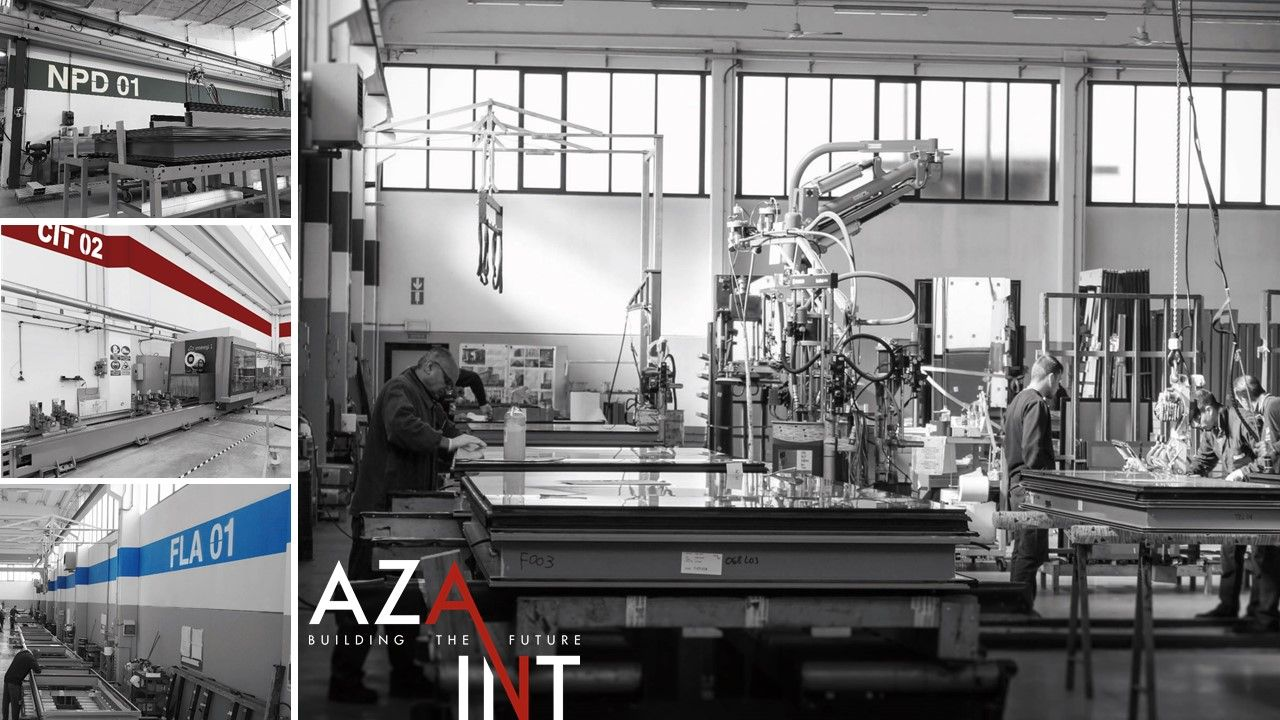 Aza Int The Manufacture Of Unitized Curtain Wall The Production