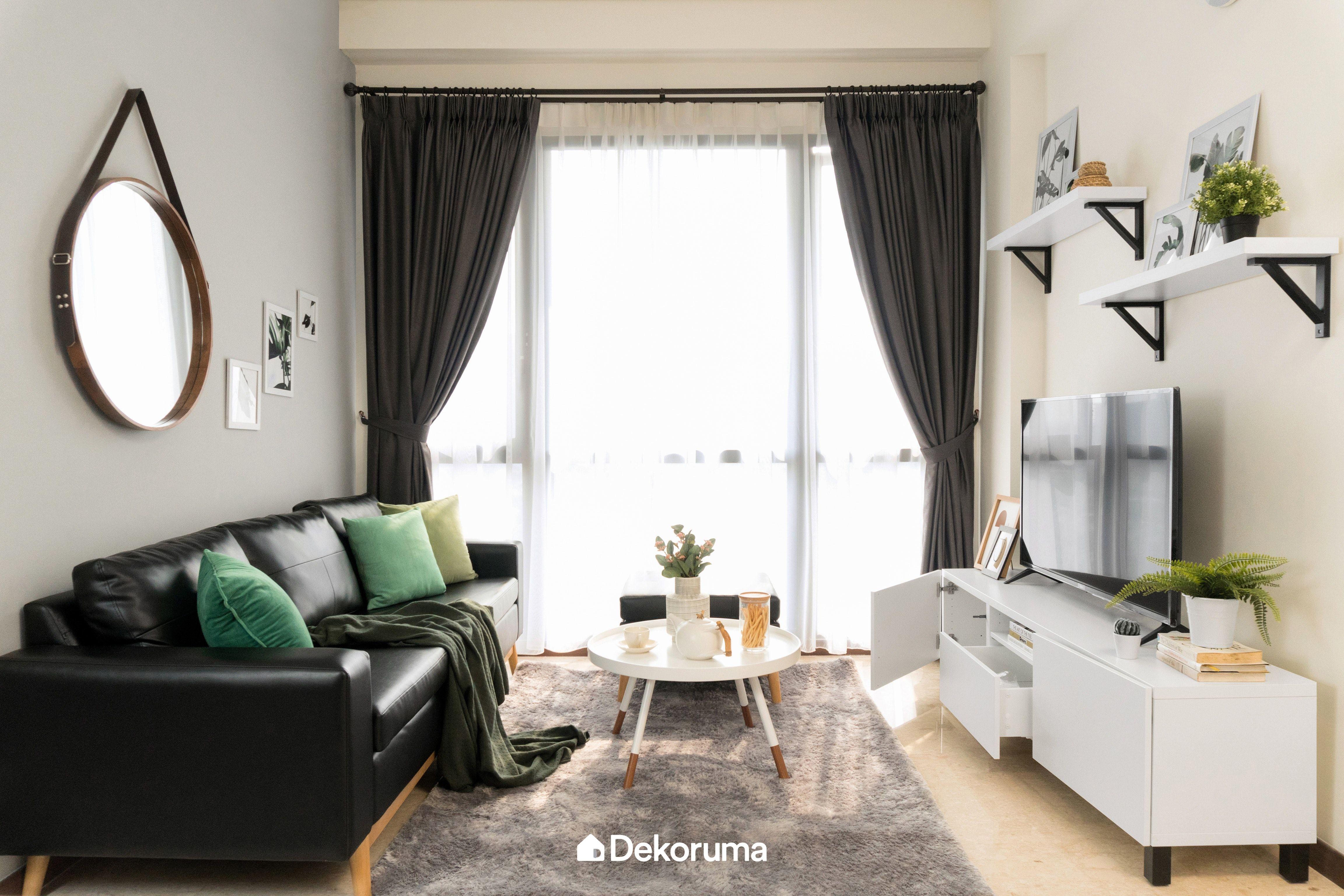 Bold Look Apartment Serpong Interior Rumah Ide Dekorasi Rumah Desain Interior