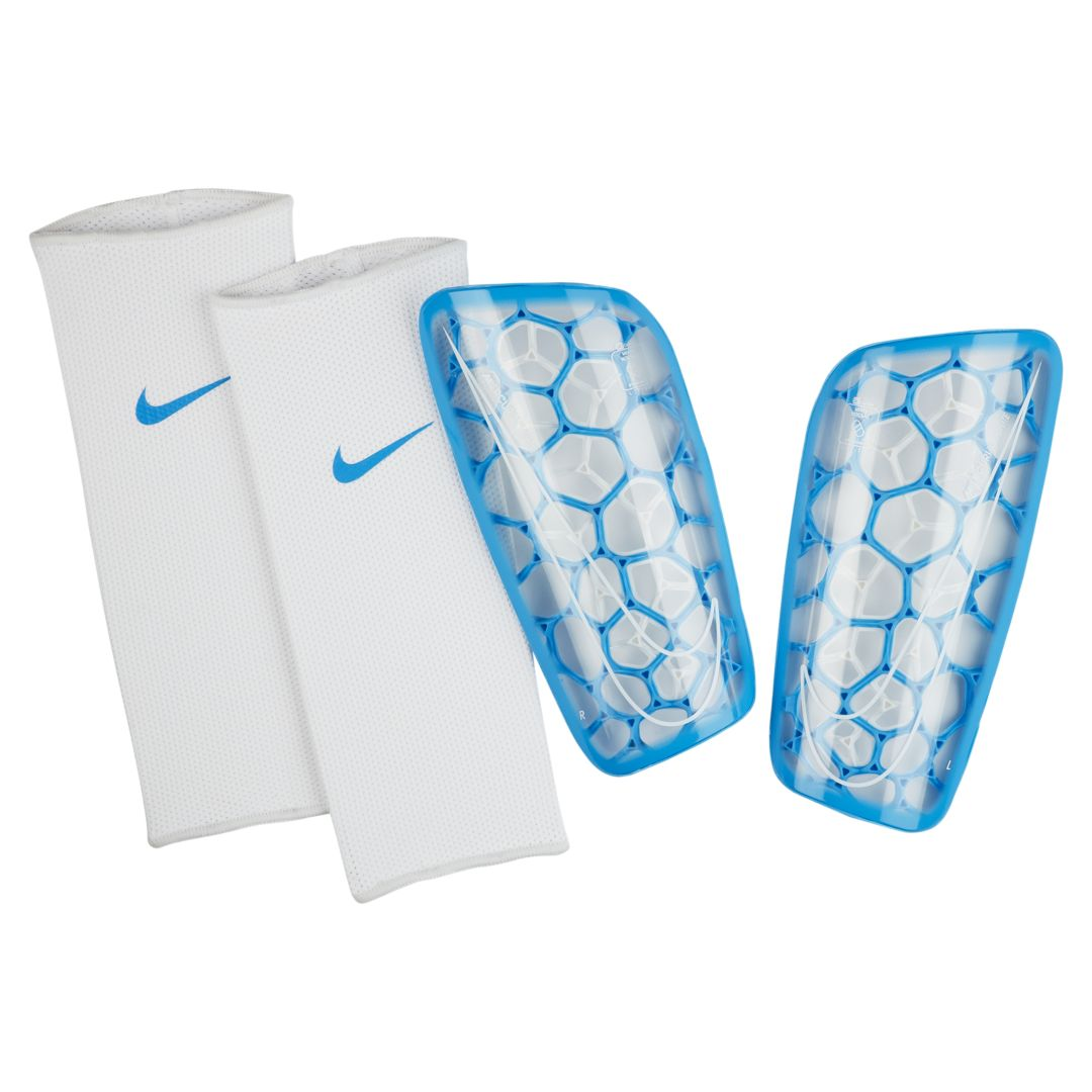 Nike Mercurial Flylite Soccer Shin Guards Size M Blue Hero Soccer Shin Guards Soccer Shin Guards