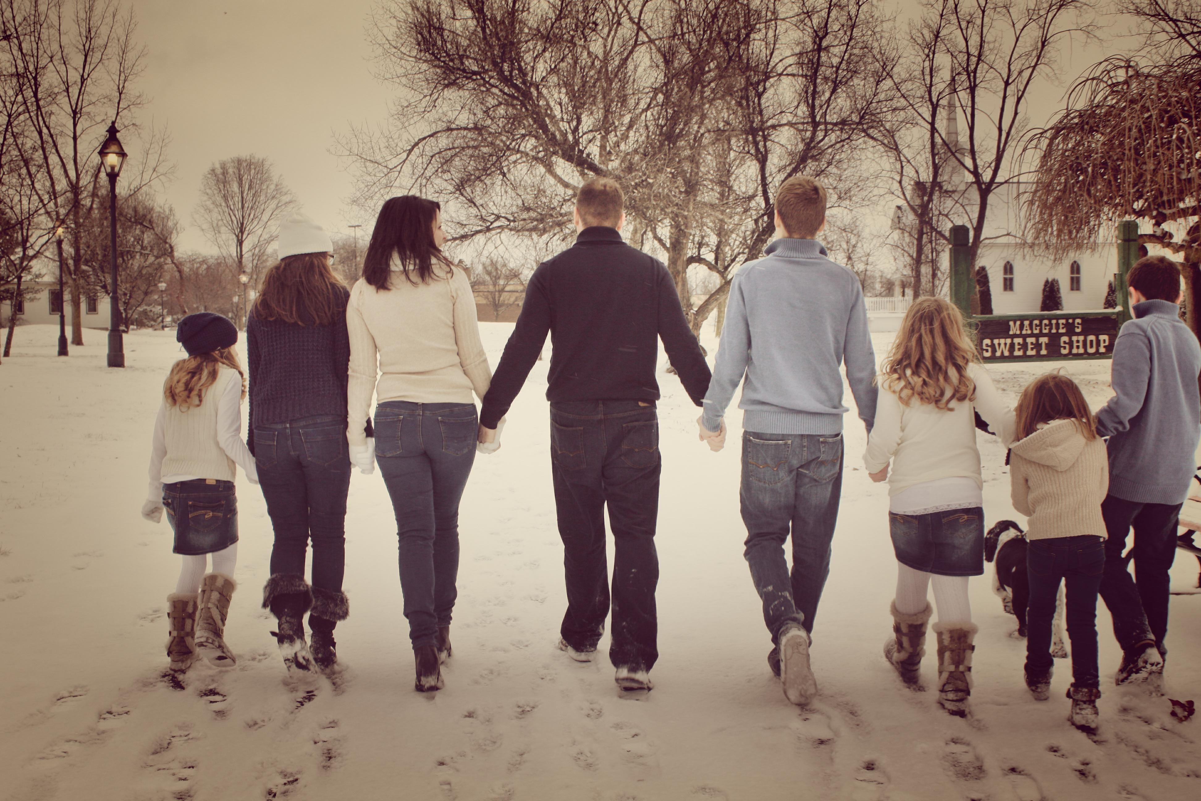 One big happy family =)