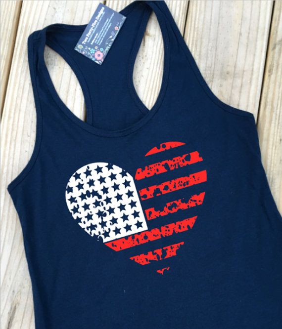 335c46eef7e Women s 4th of July Tank Flag Shirt Flag by ForeverStrongApparel