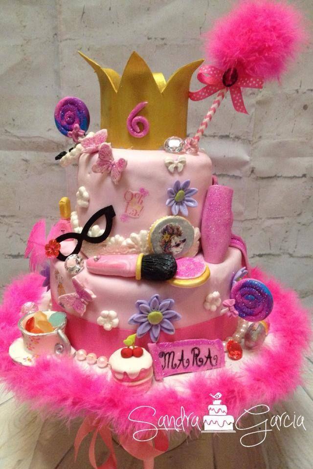 Fancy Nancy Cake Spa Birthday Parties Party Girl