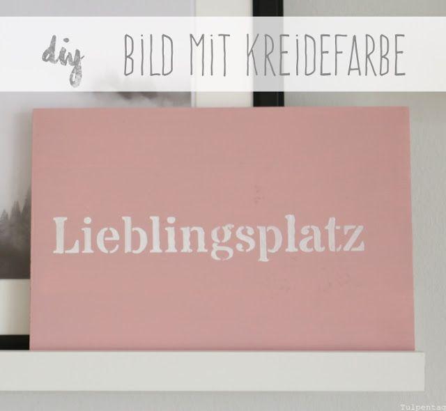 Kreidefarbe DIY und Bilder aus dem Wohnzimmer Deko, Blog und - wohnzimmer deko pink