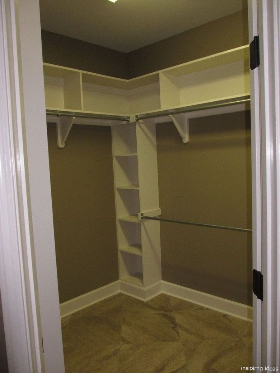 02 Genius Small Closet Ideas Bedroom Organization Closet Diy