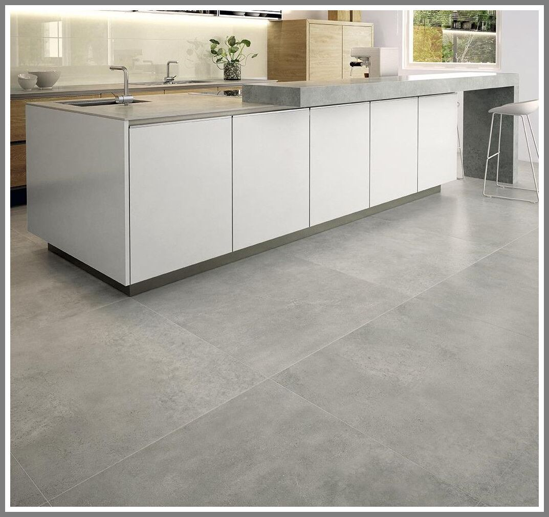 101 Reference Of Floor Tile Big Cement Tile In 2020 Concrete Floor Tiles Kitchen Concrete Tile Floor Kitchen Flooring