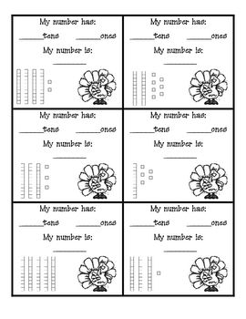 This is a great worksheet to add to your place value file