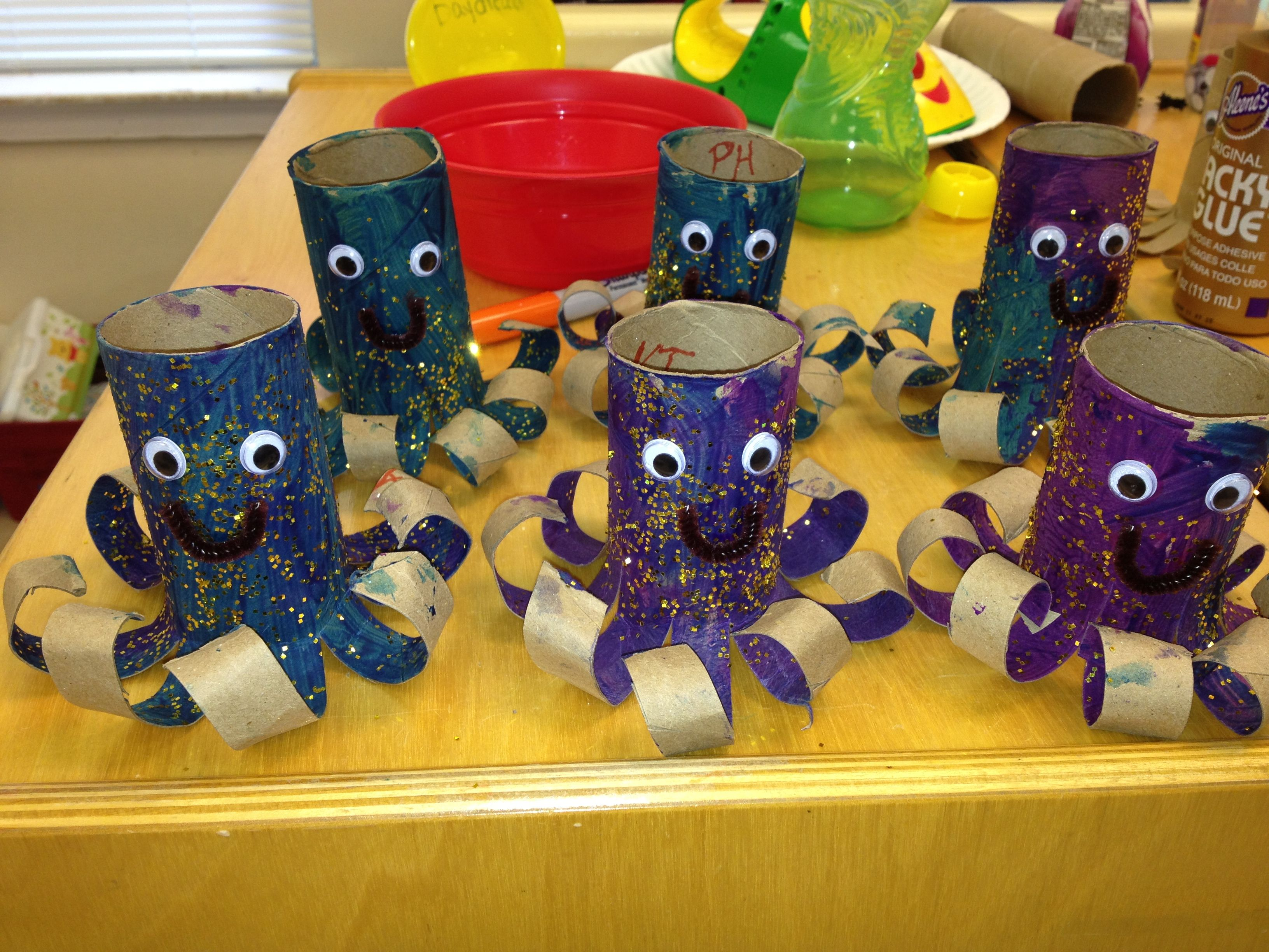 The Octopus My 2 Year Old Class Made