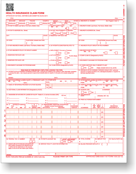 Cms Claim Forms And Other Medical Office Supplies  Medical