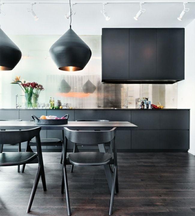 küchenideen für dunklen boden - Google-Suche | Kitchen | Pinterest ...