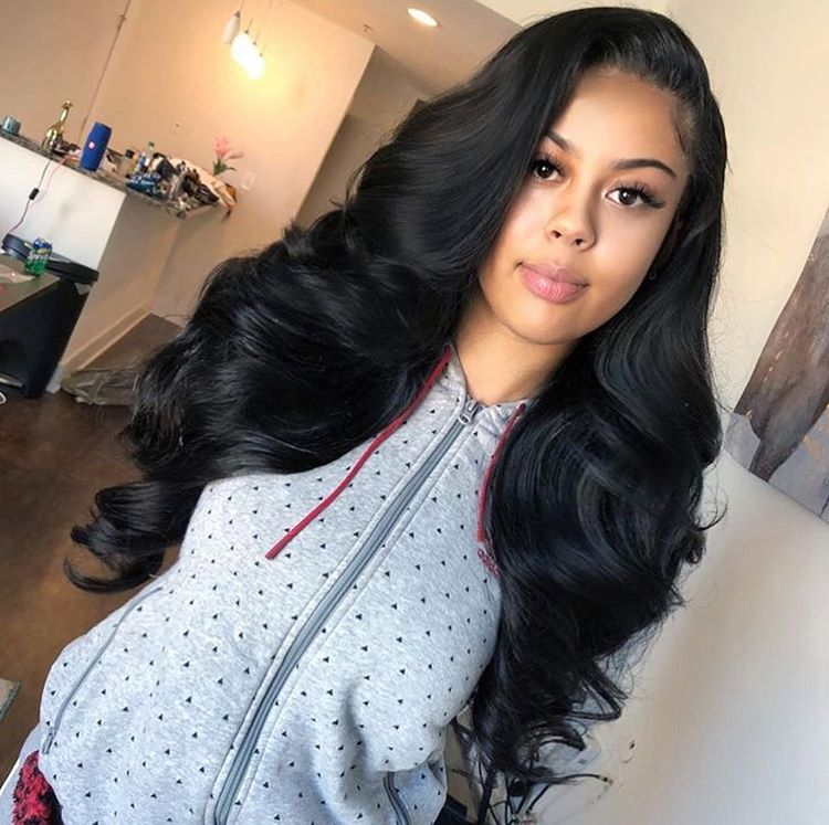 cute sew in weave for prom and any other event hair style