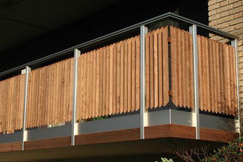 RHEINHESSISCHER HOLZHANDEL Balkone  Geländer Nha Pinterest - terrassen gelander design