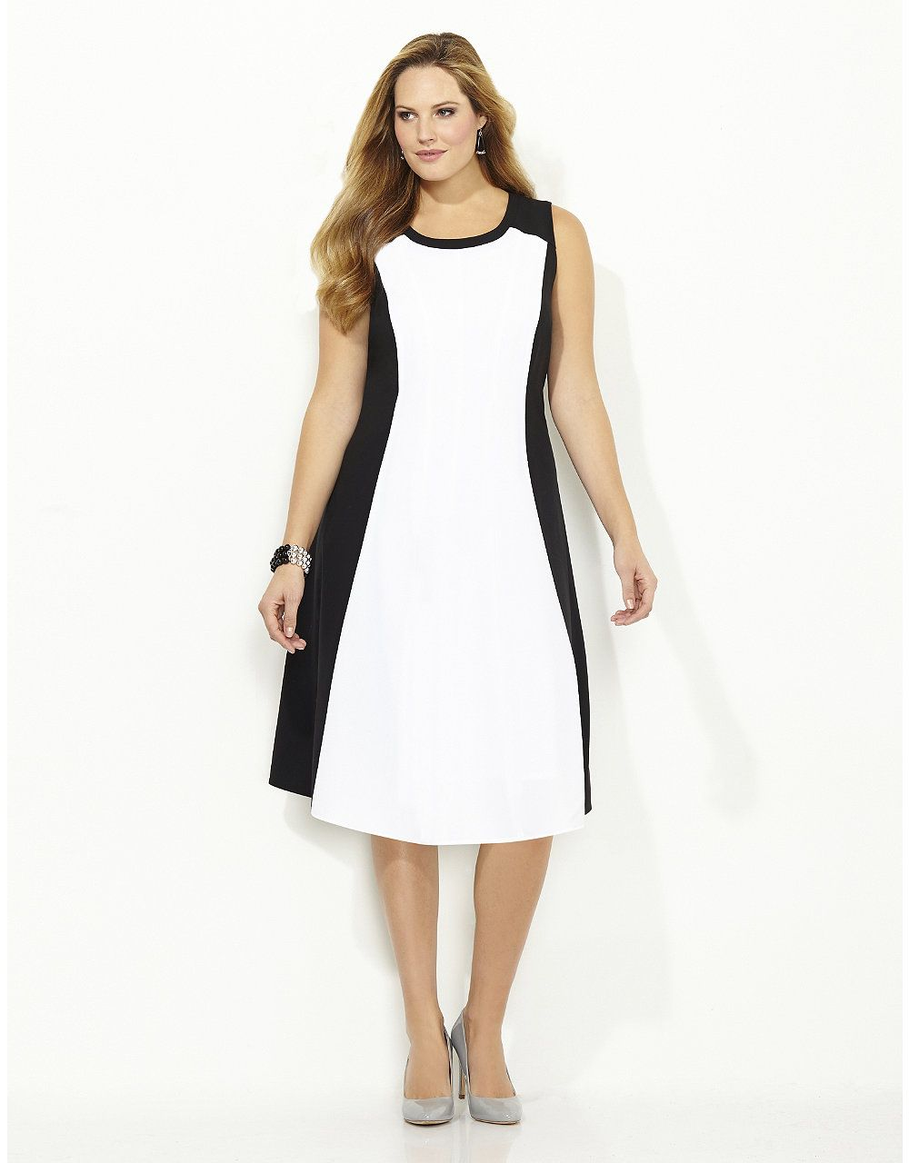 Hourglass Colorblock Dress   Catherines   Clothes I like ...